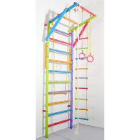 Шведская лестница модульная цветная базовый комплект