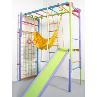 Домашний спортивный уголок Лиана цветной с сеткой