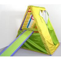 Игровой складной спортивный уголок Кроша цветной с палаткой