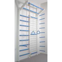 Домашній спортивний комплекс Комбі біло-блакитний базовий комплект