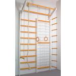 Домашний спортивный комплекс Комби бело-оранжевый базовый комплект