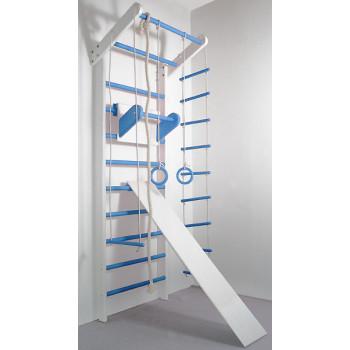 Шведская стенка Сосна бело-голубая полный комплект