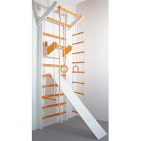 Шведська стінка Сосна біло-помаранчева повний комплект