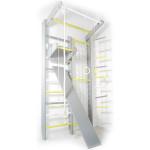 Домашний спортивный комплекс Комби серо-желтый полный комплект